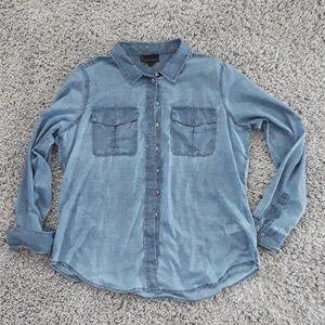 Jeans by Buffalo Denim Colored Linen Shirt